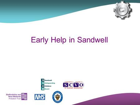 Early Help in Sandwell.
