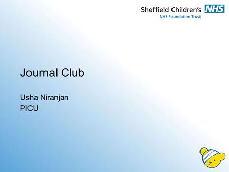 Journal Club Usha Niranjan PICU. Rationale 2 x cases of severe dehydration with metabolic acidosis –requesting for HDU management –as given 40mls/kg fluid.