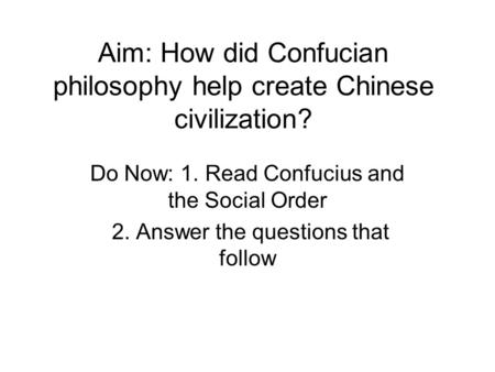 confucian philosophy essay Both confucianism and taoism have an aspect of philosophy as well as a religion, but each of them represents different ways of thinking and implementing behavioral codes these two philosophies are two sides of the same coin.