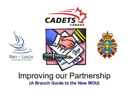 Improving our Partnership (A Branch Guide to the New MOU)