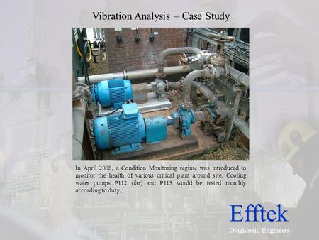 Vibration Analysis – Case Study