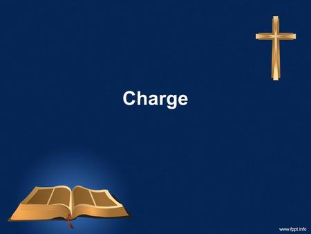 Charge. And Jesus came and said to them, All authority in heaven and on earth has been given to me. Go therefore and make disciples of all nations, baptizing.