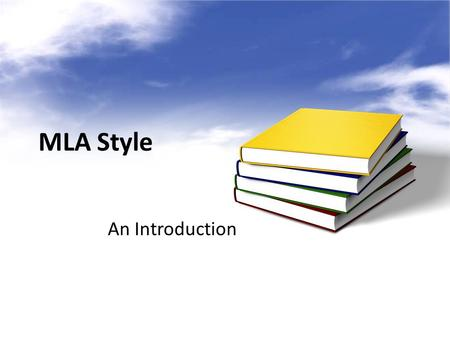 MLA Style An Introduction. MLA format follows the author-page method of in-text citation. There are two key requirements for MLA style: –Parenthetical.