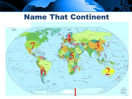 Map 1 study guide world geography map quiz 1 north america south name that continent 1 3 4 6 5 7 2 11 12 9 10 8 gumiabroncs Gallery