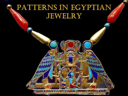 Patterns in Egyptian Jewelry