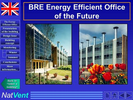 BRE Energy Efficient Office of the Future