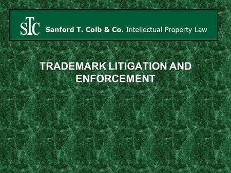 TRADEMARK LITIGATION AND ENFORCEMENT. India - Israel Population 7,184,000 96 th in the world 1,095,315,995 Second largest in the world IsraelIndia.