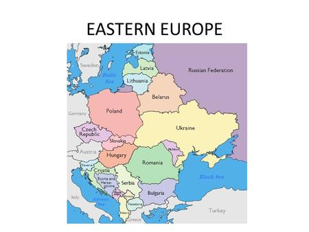 EASTERN EUROPE. GEOGRAPHY BALKAN MOUNTAINS These mountains extend from Serbia across Bulgaria. Additional ranges run through Albania, Greece and Macedonia.