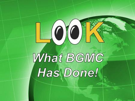 BGMC has provided curriculum and study materials for the Honduras Teen Challenge.
