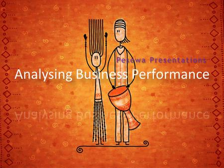 Analysing Business Performance