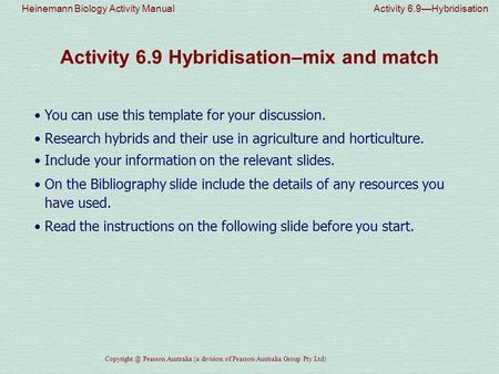 heinemann biology activity manual activity 3 1 urey and miller s rh slideplayer com Practical Biology Experiments Practical Biology Experiments