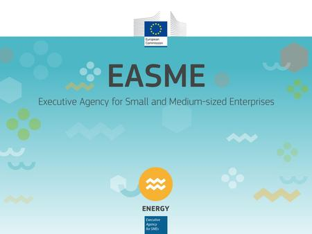 Horizon 2020 Energy Efficiency Information Day 12 December 2014 Essentials on how to submit a good proposal EASME Project Advisors: Francesca Harris,