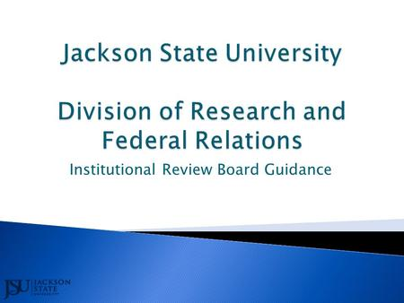 Institutional Review Board Guidance.  Independent Ethics Committee  Ethical Review Board  Research Ethics Committee 2.