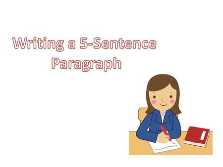 Begin with a topic sentence.  State what the paragraph is about.  Make it interesting.  Be sure to indent !