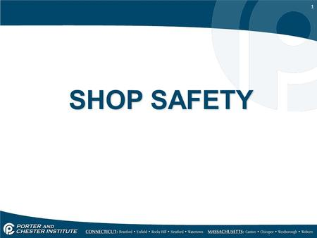 SHOP SAFETY.