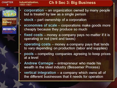 Getting to California corporation – an organization owned by many people but is treated by law as a single person stock – part ownership of a corporation.