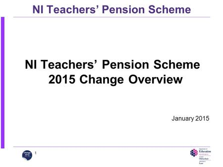 NI Teachers' Pension Scheme