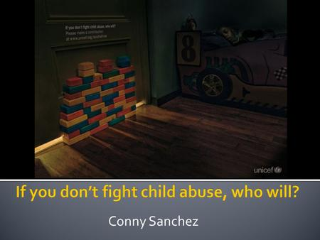 Conny Sanchez.  UNICEF (United Nations Children's Fund) is part of a global effort to save, protect, and improve children's lives. The U.S. Fund for.