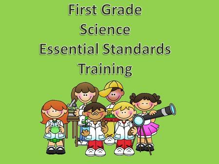 Essential Science Standards Crosswalk Document Unpacking Document.