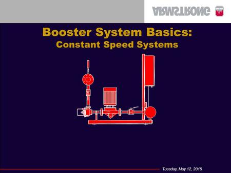 Booster System Basics: Constant Speed Systems