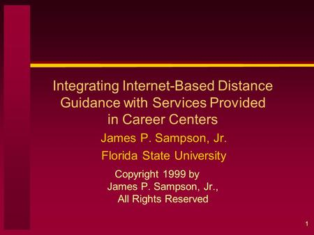 Janet G  Lenz, Ph D  Gary W  Peterson, Ph D  Robert C