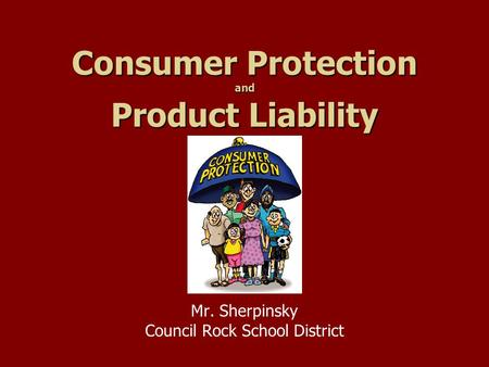 understanding provisions of consumer protection in This short consumer protection act (cpa) course is designed to take delegates through the main provisions of the law, explain things in clear terms and discuss the practical implications of this far reaching law on the way organisations do business and interact with customers in south africa.