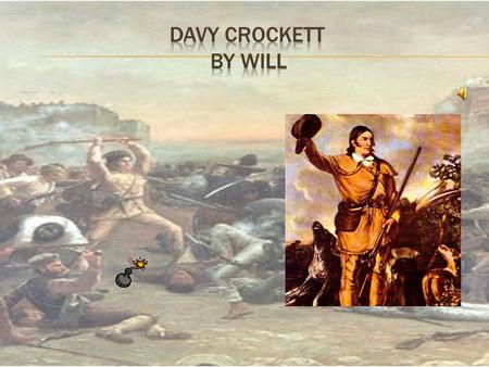  Davy was born on August 17,1786  He was born in Eastern Tennessee.