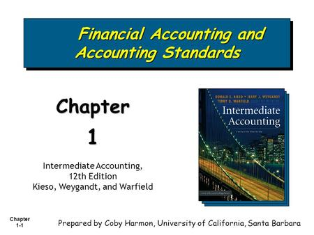 Financial <strong>Accounting</strong> and <strong>Accounting</strong> Standards