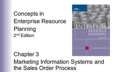 Marketing Information Systems and the Sales Order Process