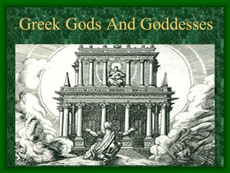 Greek Gods And Goddesses Zeus Zeus, was the greatest of the gods. While Poseidon ruled the seas and Hades ruled the underworld, Zeus was the master of.