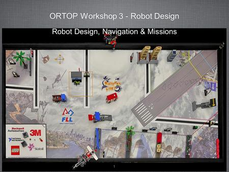ORTOP Workshop 3 - Robot Design