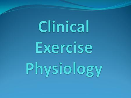 What can an Exercise Physiologist do for you? Help to manage chronic conditions with lifestyle and behavioural change. Many Chronic conditions can be.