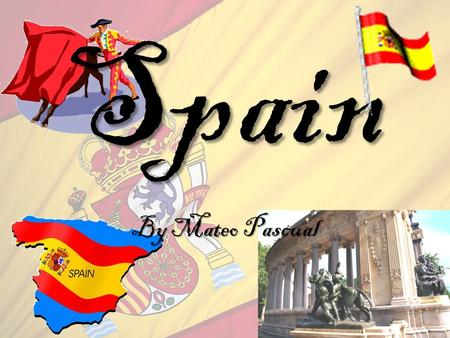 Spain By Mateo Pascual My Visit My visit in Spain was in 2008. I went to Barcelona and Madrid. I visited the Sagrada Familia, which is a church that.