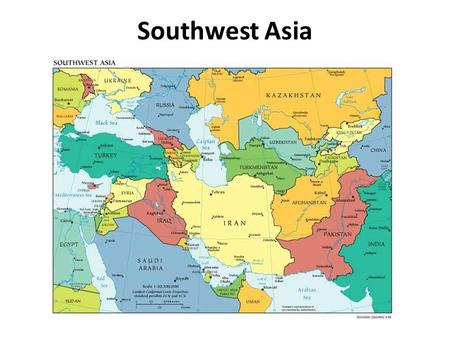 Southwest Asia aka the Middle East - ppt video online download