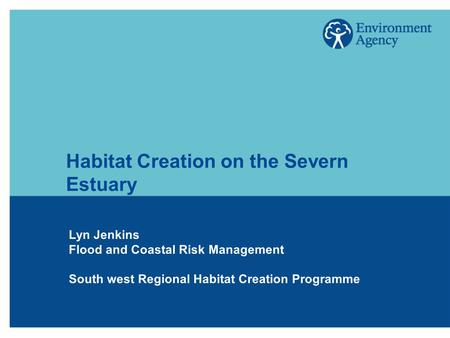 Habitat Creation on the Severn Estuary Lyn Jenkins Flood and Coastal Risk Management South west Regional Habitat Creation Programme.