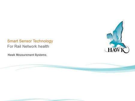 Smart Sensor Technology For Rail Network health Hawk Measurement Systems.