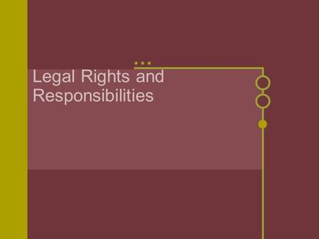 Legal Rights and Responsibilities. Notebooks TP- Legal Rights and Responsibilities (Ch. 15) CM- 344-358 Geo- Map of the U.S.--Rank the states--1 being.