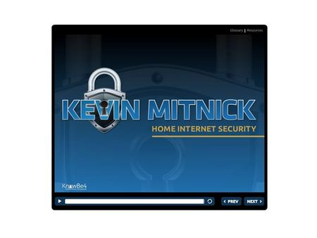 Kevin Mitnick Home Internet Security Course Today, Internet criminals are going after families. They try to guess your passwords and steal your credit.