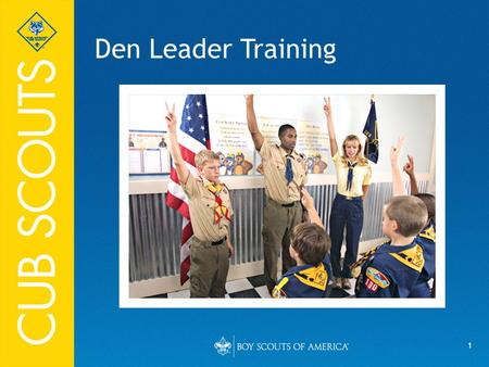 Den Leader Training Say (in your own words):