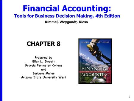 managerial accounting 4th weygandt edition chapter 14 Managerial accounting, fifth canadian edition  managerial accounting chapter 2:  jerry weygandt is an arthur andersen professor of accounting at the university .