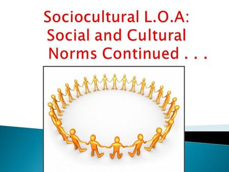Socio-cultural Cognition (4.1) 1. Describe the role of situational and dispositional factors in explaining behaviour. 2. Discuss two errors in attributions.