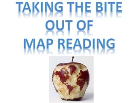 Taking the bite out of map reading.