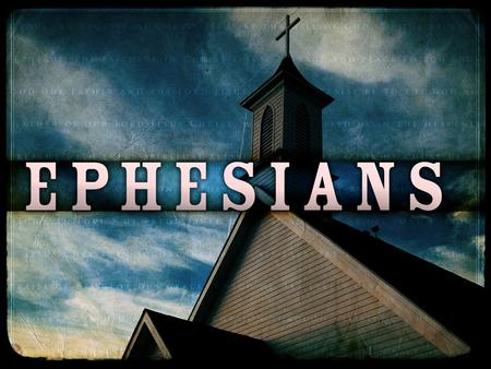 Introduction to the Book EPHESIANS NOTES  The Overview Paul wrote the letter to the Ephesians from prison sometime in AD 60–61, around the same time.