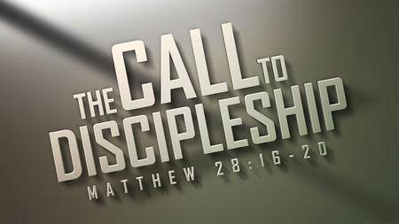 """Go therefore and make disciples of all the nations"" Matthew 28:19."