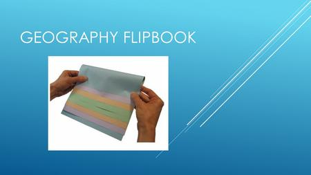 Geography Flipbook.