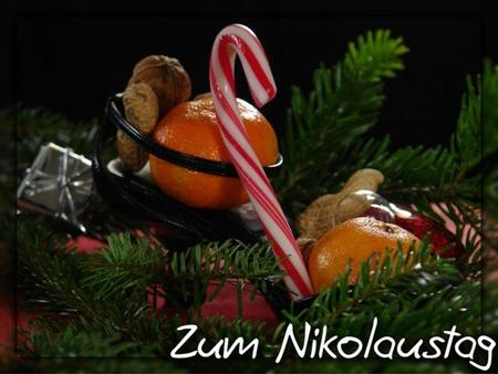 When and where was St. Nikolaus born?