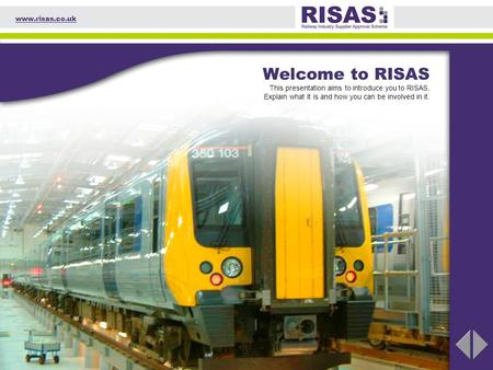 Part 1 Background Part 2 The RISAS Board Accreditation Agency RISABs Suppliers IT Application Scheme Administrator Documentation RISAS001/01 RISAS002/01.