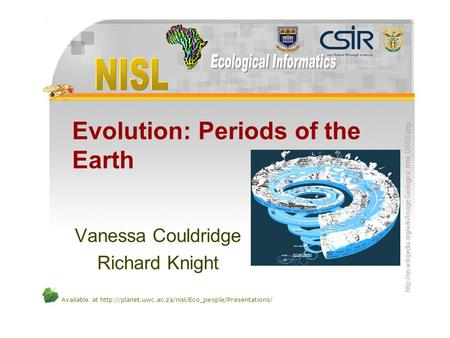 Evolution: Periods of the Earth