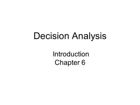 chapter 5 analyzing managerial decisions rich Chapter 5: cost behavior and cost-volume-profit analysis chapter 5 study plan 51 cost behavior vs cost estimation 52 fixed and variable costs 53 mixed costs  102 applying differential analysis in managerial decision making 103 applying differential analysis to quality decisions 104 accounting in the headlines chapter 10 key.