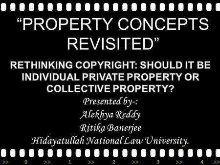 ">>0 >>1 >> 2 >> 3 >> 4 >> ""PROPERTY CONCEPTS REVISITED"""